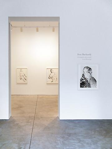 Don Bachardy - Christopher Isherwood; Last Drawings - Exhibitions - Cheim Read