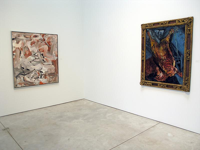 The New Landscape / The New Still Life 	Soutine and Modern Art 	June 22 - September 8, 2006