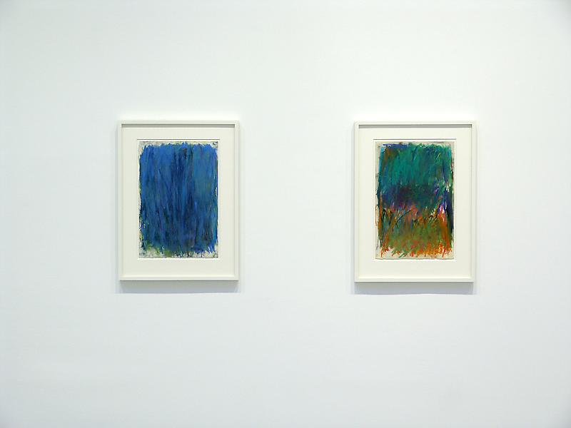 Joan Mitchell 	Works on Paper 1956 - 1992 	May 10 - June 16, 2007