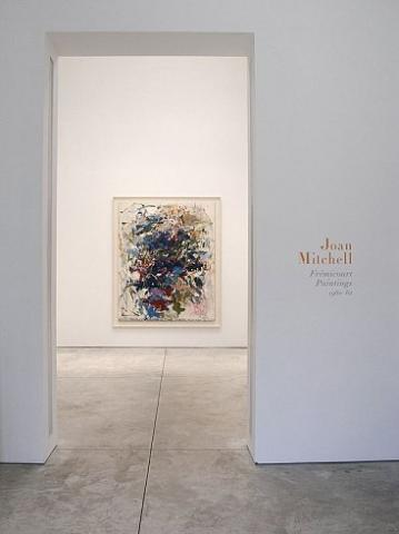 Joan Mitchell - Frémicourt Paintings 1960–62 - Exhibitions - Cheim Read
