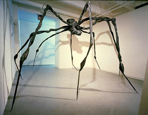 Louise Bourgeois: Spider 1996 - Jenny Holzer: The Living Series 1980–1982 - Exhibitions - Cheim Read