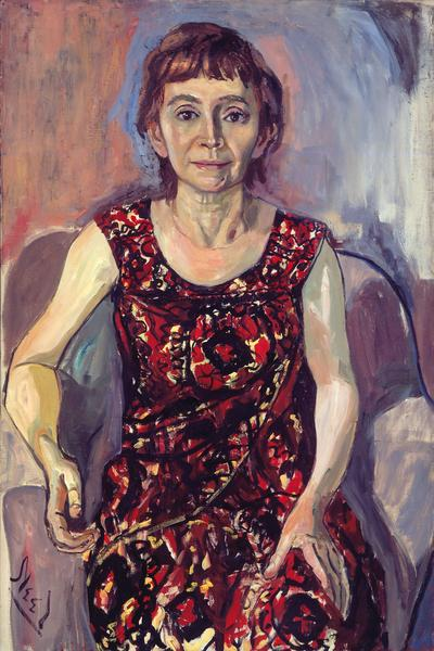 Alice Neel (1900 - 1984) RACHEL ZURER 1961-62 Oil on canvas 39 x 26 inches 99.1 x 66 centimeters