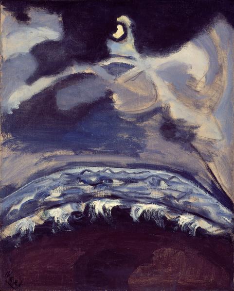 Alice Neel (1900 - 1984) THE SEA, 1947 Oil on canvas 30 x 24 inches 76.2 x 61 centimeters