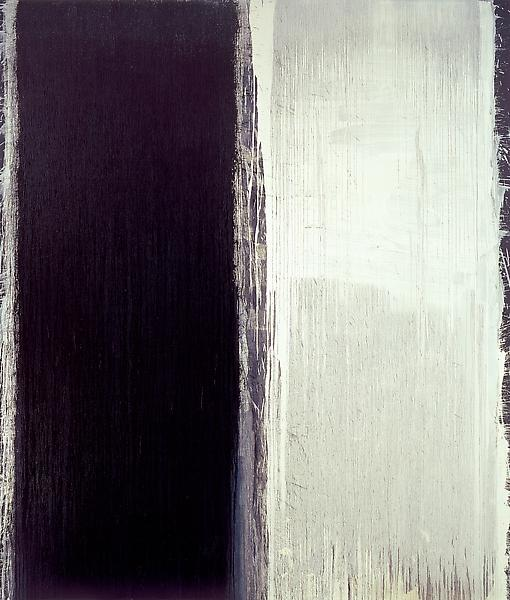 Pat Steir 	BLACK, 2007 	Oil on canvas 	127 1/4 x 109 1/4 inches 	323.2 x 277.5 centimeters