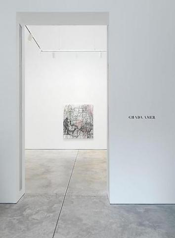 Ghada Amer - Color Misbehavior - Exhibitions - Cheim Read