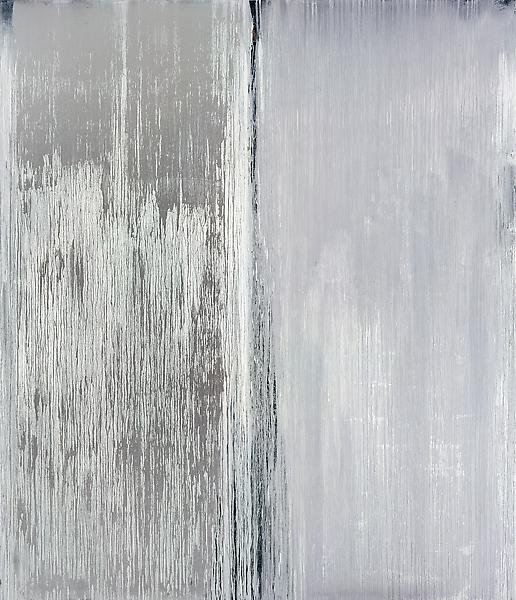 Pat Steir 	LIGHT, 2007 	Oil on canvas 	127 1/4 x 109 1/4 inches 	323.2 x 277.5 centimeters