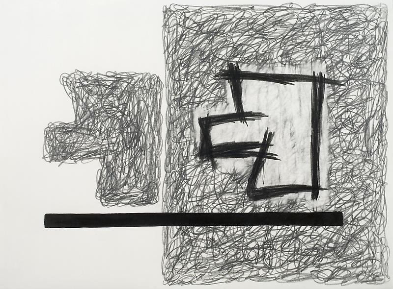 Jonathan Lasker 	UNTITLED  1996 	Acrylic and graphite on paper 	22 1/4 x 30 inches 	56.5 x 76.2 centimeters