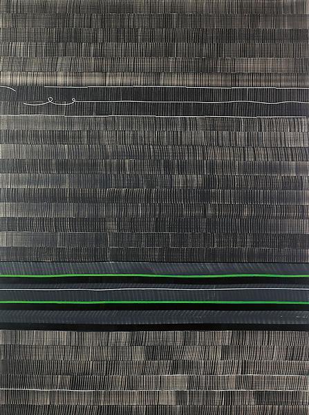 Juan Uslé SOÑE QUE REVELABAS (TIGRIS), 2007 Vinyl, dispersion and dry pigment on canvas 108 x 80 inches 274.3 x 203.2 centimeters