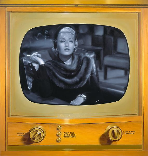 McDermott & McGough 	LATE NIGHT #6: LANA TURNER, 1967. 2008 	Oil on linen 	38 x 36 inches 	96.5 x 91.4 centimeters