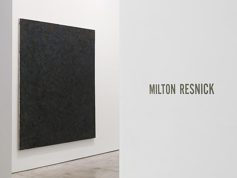 Milton Resnick: The Elephant in the Room 9/22 - 10/29/11