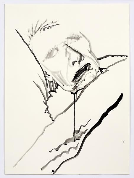 Don Bachardy UNTITLED VII, 29 DECEMBER 1985 Acrylic on paper 30 1/8 x 22 1/2 inches 76.5 x 57.2 centimeters