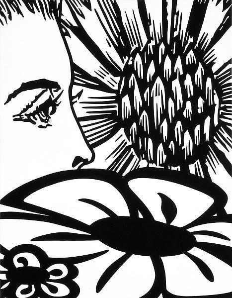 Paul Morrison SYMBIONT 2009 Acrylic on linen 18 1/4 x 14 1/4 inches 46 x 36 centimeters