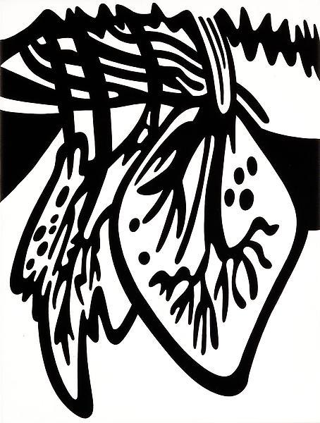 Paul Morrison LITHOPHILE 2008-09 Acrylic on canvas 18 1/4 x 14 1/4 inches 46 x 36 centimeters