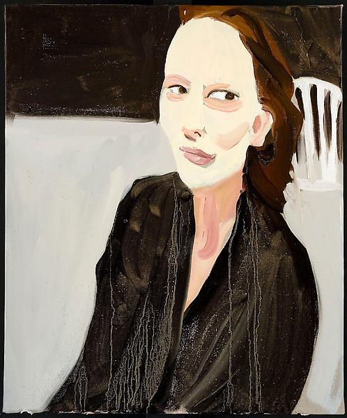 Chantal Joffe FREJA 2009 Oil on linen 19 x 15 inches 48 x 38 x 2 centimeters