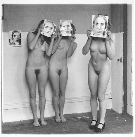 Francesca Woodman 	P.64/PROVIDENCE, RHODE ISLAND 1975-78 	Gelatin silver print 	8 x 10 inches 	20.3 x 25.4 centimeters