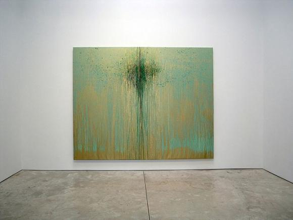 Pat Steir - Moons and a River - Exhibitions - Cheim Read