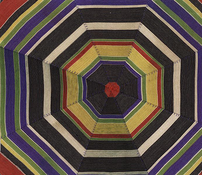 Louise Bourgeois UNTITLED 2005 Fabric 9 3/8 x 11 inches 23.8 x 27.9 centimeters