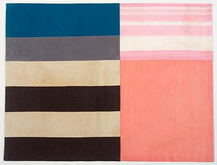 Louise Bourgeois UNTITLED 2005 Fabric 20 1/2 x 27 inches 52.1 x 68.6 centimeters
