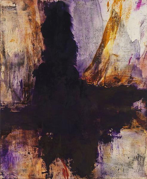 Bill Jensen LUOHAN(DARK ANGEL) 2010-11 Oil on linen 28 x 23 inches 71.1 x 58.4 centimeters