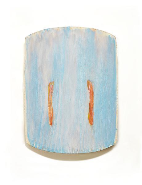 Ron Gorchov NOLI ME TANGERE 2011 Oil on linen 44 1/2 x 36 x 10 inches 113 x 91.4 x 25.4 centimeters