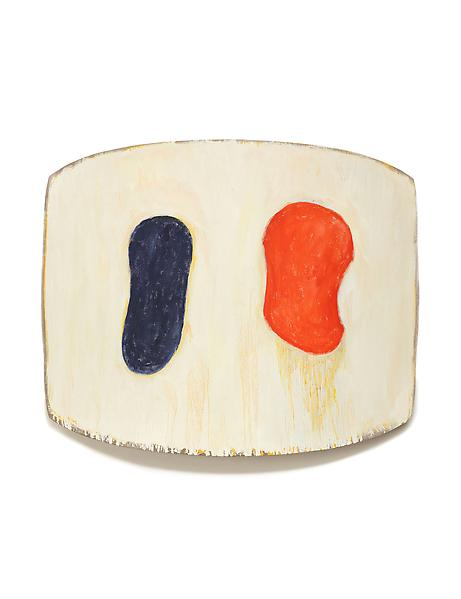 Ron Gorchov LA PIVA 2012 Oil on linen 35 x 45 x 9 inches 88.9 x 114.3 x 22.9 centimeters