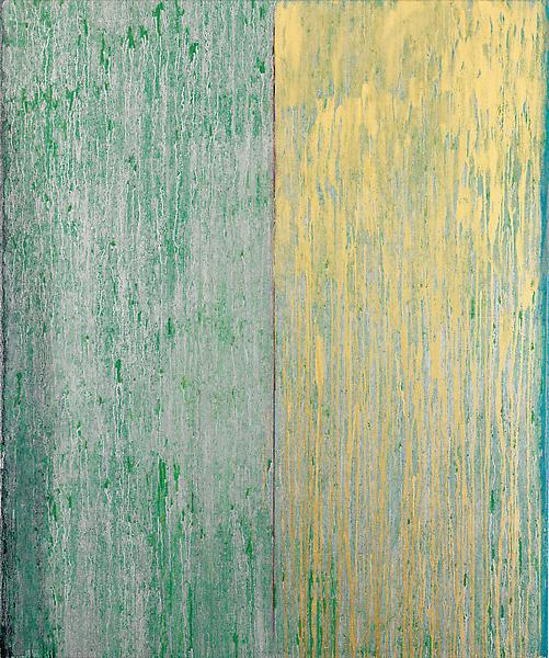 Pat Steir 	SWEET SUITE #II: ONE 2012 - 13 	Oil on canvas 	60 x 50 inches 	152.4 x 127 centimeters
