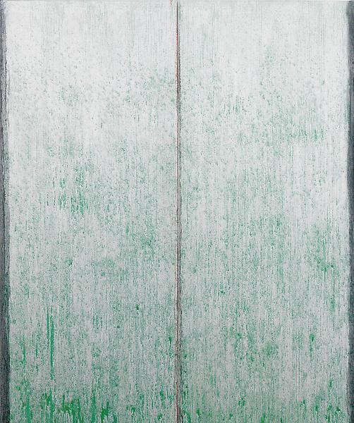 Pat Steir SWEET SUITE #II: TWO 2012 - 13 Oil on canvas 60 x 50 inches 152.4 x 127 centimeters