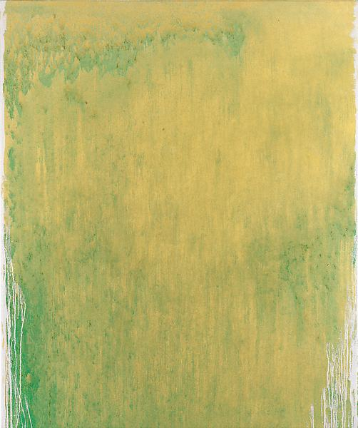 Pat Steir SWEET SUITE #II: THREE 2012 - 13 Oil on canvas 60 x 50 inches 152.4 x 127 centimeters