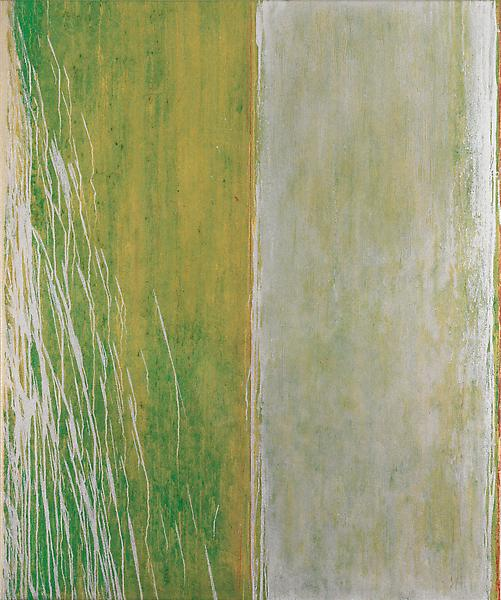 Pat Steir SWEET SUITE #II: FOUR 2012 - 13 Oil on canvas 60 x 50 inches 152.4 x 127 centimeters