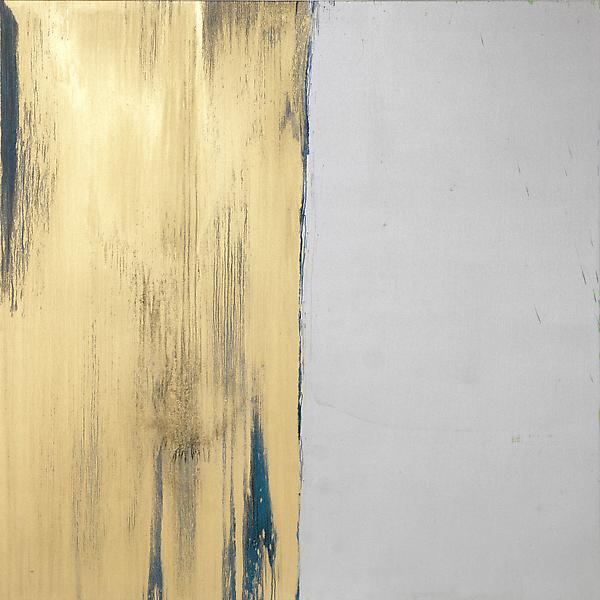 Pat Steir BIRTHDAY PAINTING 2013 Oil on canvas 84 x 84 inches 213.4 x 213.4 centimeters