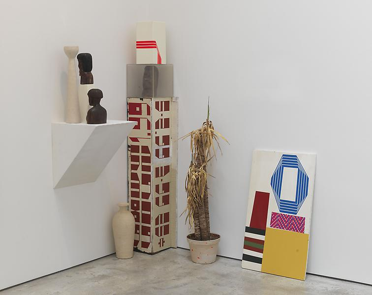 Barry McGee 	UNTITLED 2013 	Mixed media; 9 elements 	Dimensions variable