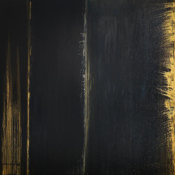 Pat Steir QUANTUM 2013 Oil on canvas 132 x 132 inches 335.3 x 335.3 centimeters