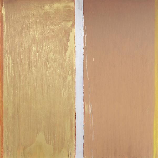 Pat Steir 	COLORS WITHOUT NAMES 2013 	Oil on canvas 	132 x 132 inches 	335.3 x 335.3 centimeters