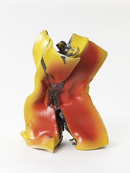 Lynda Benglis 	PIMA  2013 	Glazed ceramic 	20 x 16 x 12 inches 	50.8 x 40.6 x 30.5 centimeters