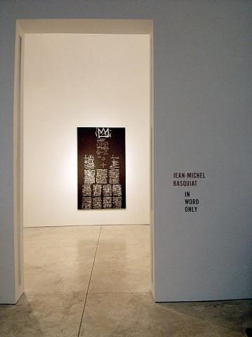 Jean-Michel Basquiat - In Word Only - Exhibitions - Cheim Read