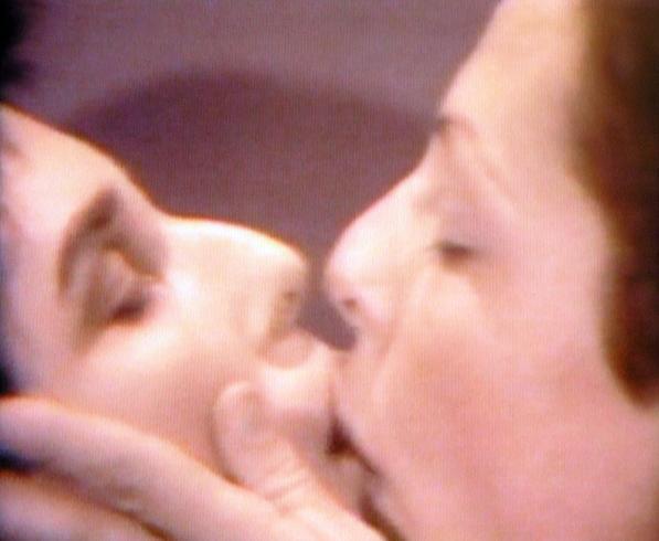 Lynda Benglis FEMALE SENSIBILITY 1973 Video tape loop