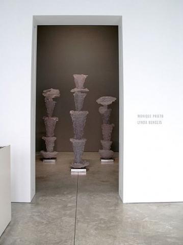 Lynda Benglis: The Graces - Monique Prieto: New Paintings - Exhibitions - Cheim Read