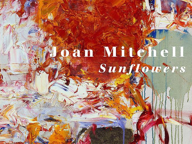 Joan Mitchell 	Sunflowers 	Published by Cheim & Read with Steidl (2008) 	Essay by Dave Hickey 	80 pages with 23 color plates 	Hardcover