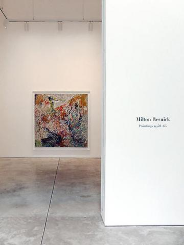 Milton Resnick - A Question of Seeing: Paintings 1958-1963 - Exhibitions - Cheim Read