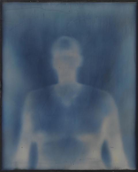 Adam Fuss 	FROM THE SERIES 'MY GHOST'  2000 	Daguerreotype 	8 x 10 inches 	20.3 x 25.4 centimeters