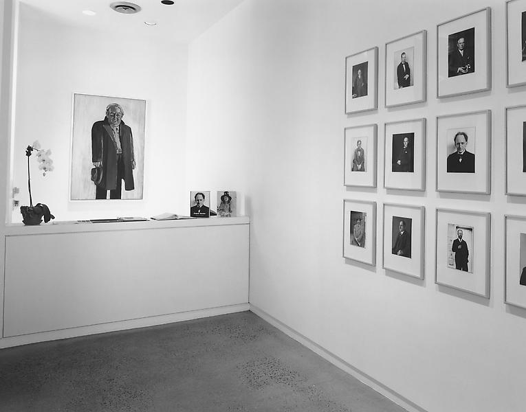 Alice Neel and August Sander 	Men in Suits 	March 4 - April 25, 1998