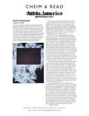 Art in America 11/14
