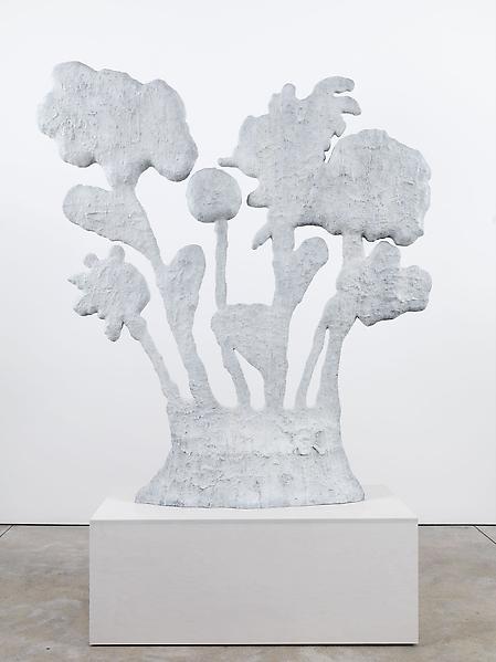Donald Baechler FLOWERS 2008 Bronze 72 x 65 x 11.5 inches 182.9 x 165.1 x 29.2 centimeters