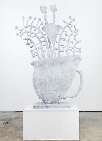 Donald Baechler FLOWERS 2009 Bronze 70 1/2 x 47 x 14 1/2 inches 179.1 x 119.4 x 15.2 centimeters