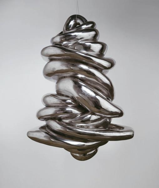 Louise Bourgeois 	UNTITLED  2004 	Aluminum 	65 1/2 x 42 x 25 inches 	166.4 x 106.7 x 63.5 centimeters