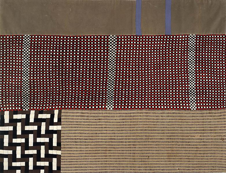 Louise Bourgeois (1911 - 2010) UNTITLED 2003 Woven fabric 34 x 44 inches 86.4 x 111.8 centimeters