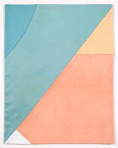Louise Bourgeois Untitled, 2005 Fabric 18 1/8 x 14 1/8 inches 46 x 35.9 centimeters