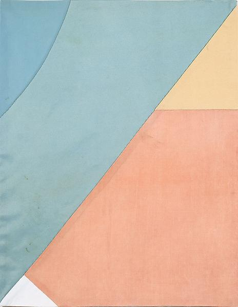 Louise Bourgeois UNTITLED 2005 Fabric 18 1/8 x 14 1/8 inches 46 x 35.9 centimeters