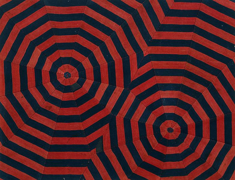 Louise Bourgeois UNTITLED 2005 Fabric 16 1/4 x 21 1/4 inches 41.3 x 54 centimeters