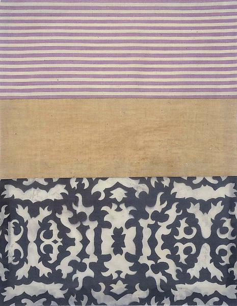 Louise Bourgeois UNTITLED 2005 Fabric 18 x 14 inches 45.7 x 35.6 centimeters